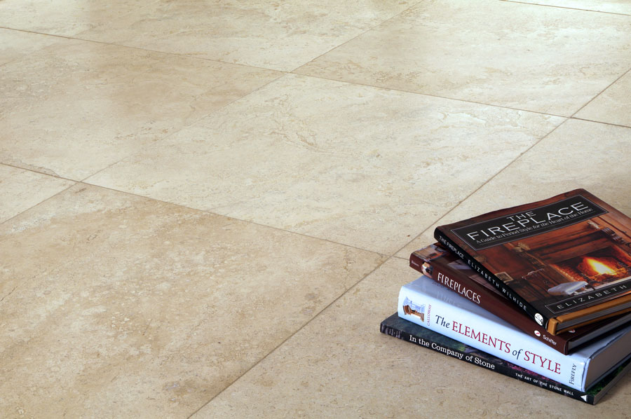Nysa 24x24 Filled And Honed Travertine Tile Travertine Pavers Houston